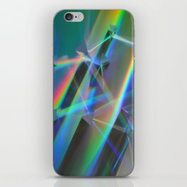 Diffracted Dreams iPhone Skin