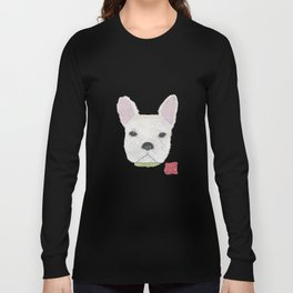 French Bulldog, FRENCHIE, Dog Long Sleeve T-shirt