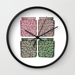 Think outside the jar Wall Clock