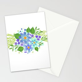 Roses Bouquet Stationery Cards