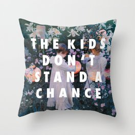 Lilies Don't Stand A Chance Throw Pillow