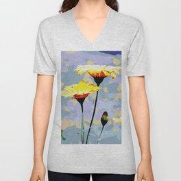 Daisys & blue sky Unisex V-Neck