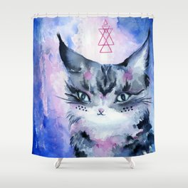 Lynx Cat : Magic Maker Shower Curtain