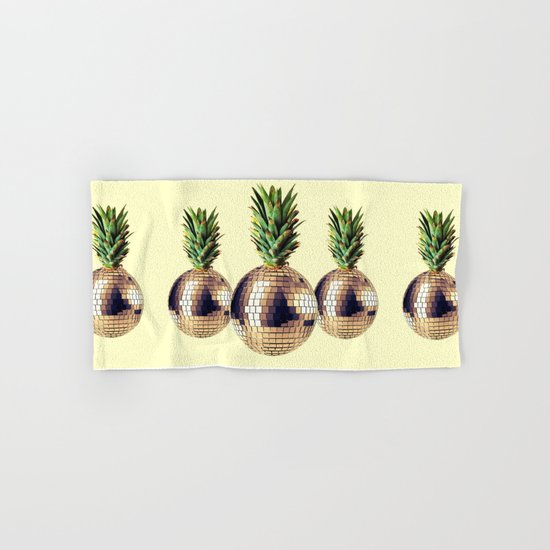 ananas party (pineapple) Hand & Bath Towel