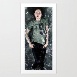 CNBlue Jungshin Art Print