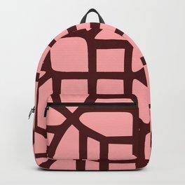 Little Maze Pattern Backpack
