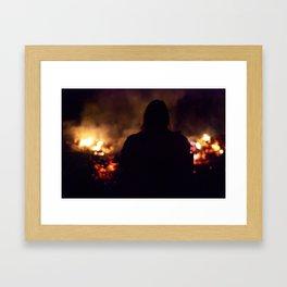 Hell Bred Framed Art Print