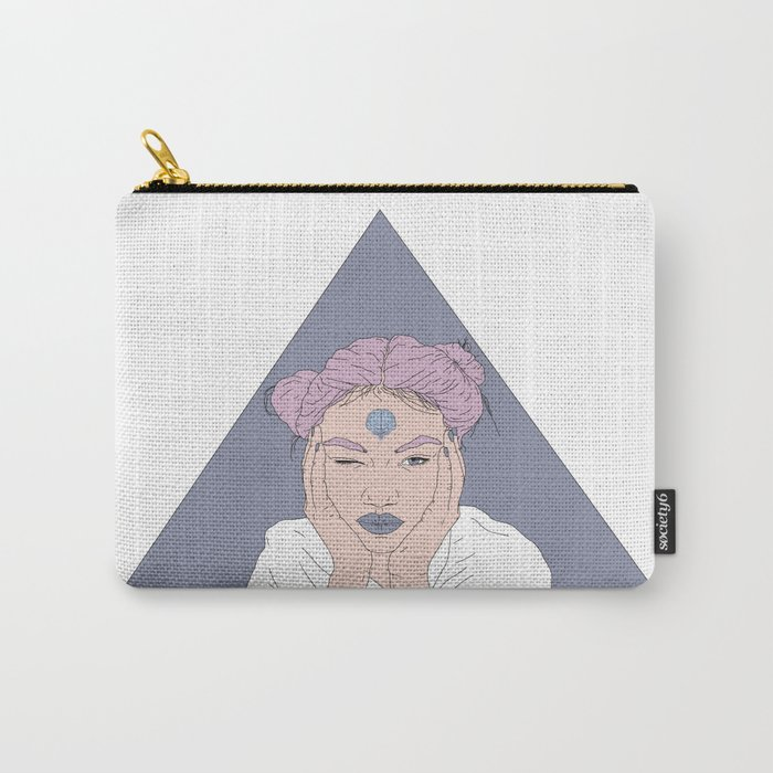 FEARLESS GIRL Carry-All Pouch