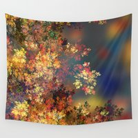 karen hallion Wall Tapestries featuring A Beautiful Summer Afternoon by Klara Acel