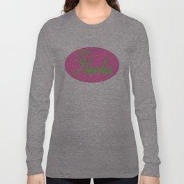 Flawless Pink & Green Long Sleeve T-shirt