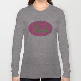Flawless Pink & Green Long Sleeve T-shirt