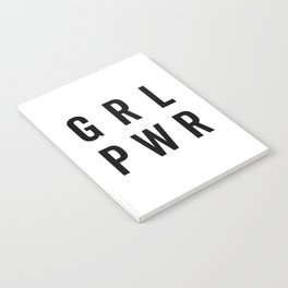 GRL PWR / Girl Power Quote Notebook