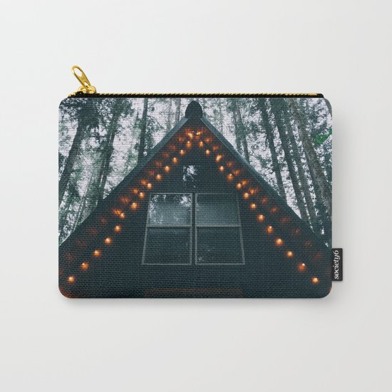 Cabin #woods Carry-All Pouch