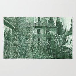 Generalife. The Alhambra Rug
