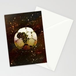 Africa Football Stationery Cards