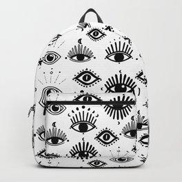 Midnight Mystic eyes Backpack