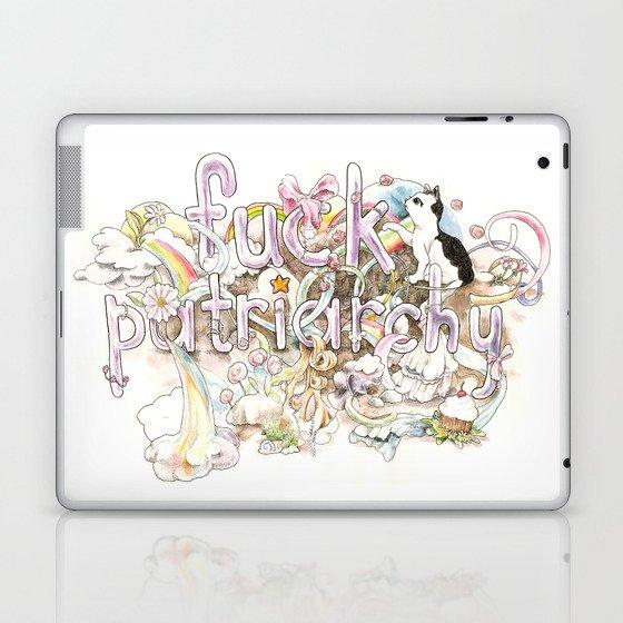 Fuck Patriarchy Laptop & iPad Skin