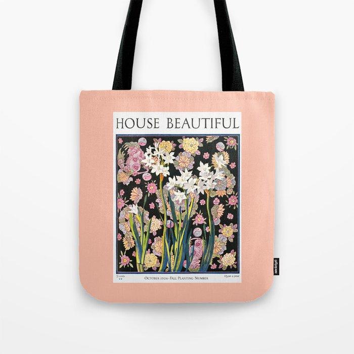 House Beautiful October 1924 Tote Bag