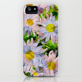 DAISEY MADNESS ABSTRACT  iPhone Case