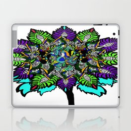 flower touch of color Laptop & iPad Skin