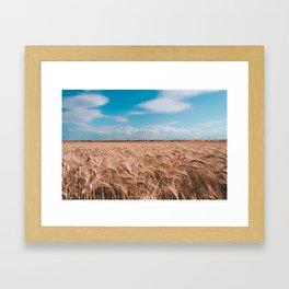 Rural Landscape Framed Art Print