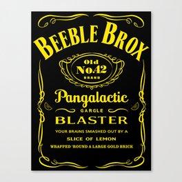 Pan Galactic Gargle Blaster Canvas Print