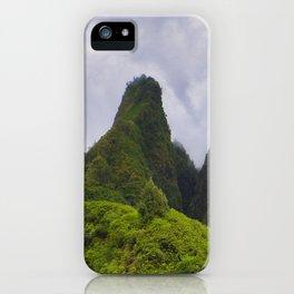 The Iao Needle iPhone Case