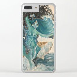 lord shiva and parvati Clear iPhone Case
