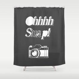 OHHHH Snap! Shower Curtain