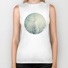 Winter Poem  Biker Tank