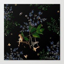 Monkey World: Apy and Vinnie Canvas Print