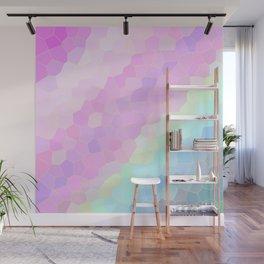 Pastel Illusions Wall Mural