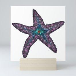 Sandy the Seastar - Abstract Starfish Mini Art Print