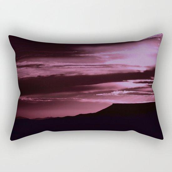 SW Rose Mesa Sunset Rectangular Pillow