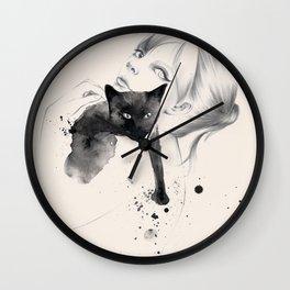 Just need a cat Wall Clock