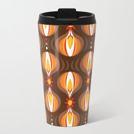 Oohladrop Brown Travel Mug