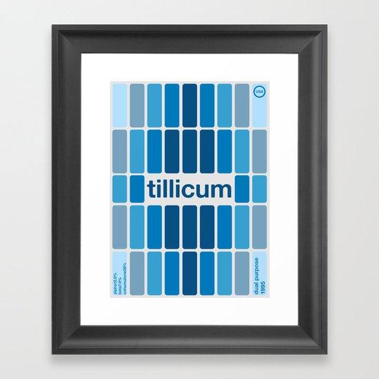 tillicum single hop Framed Art Print