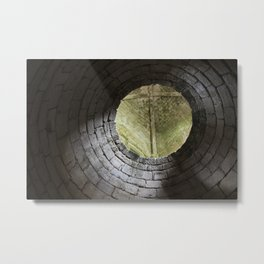 Medieval architecture abstract Metal Print