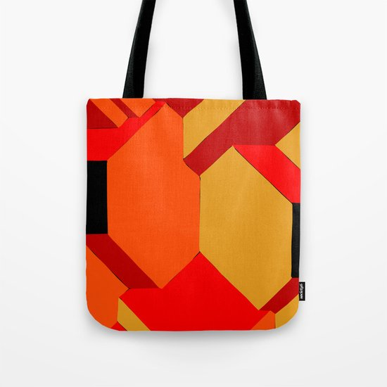 Orange roof Tote Bag