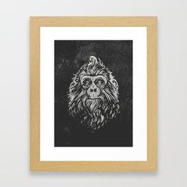 Monky Framed Art Print
