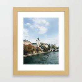 Europe in October Framed Art Print