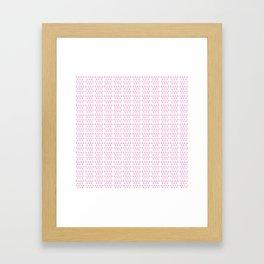 Lambda Framed Art Print