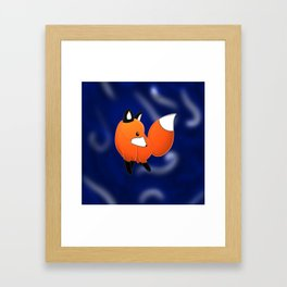 Introducing a fox Framed Art Print