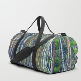 birch forest Duffle Bag