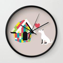 Love Your Walls Wall Clock