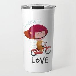Safety is Love Travel Mug