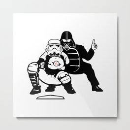 The Umpire Strikes Back Metal Print