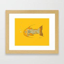 Francis the Fish Framed Art Print