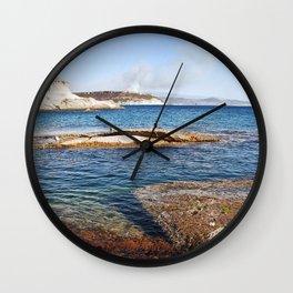 ROCKY ISLAND - Sardinia - Italy  Wall Clock