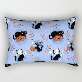 HALLOWEEN CATS PATTERN Rectangular Pillow